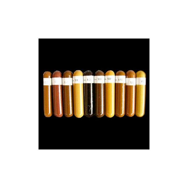 Shellac stænger - Lyse og mørke farver i kasser
